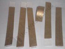 "Premium Gold Tyvek Wristbands 3/4"""