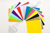 "Premium Custom Printed Neon Mixed Tyvek Wristbands Pack 3/4"""