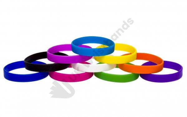 100 Silicon Wristbands