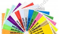 5,000 Custom Printed Premium Tyvek Wristbands